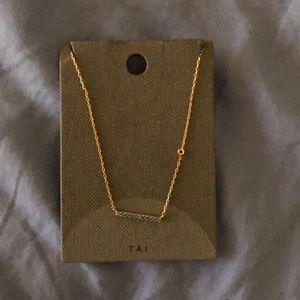 Tai aqua necklace NWT